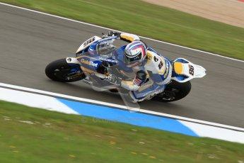 © Octane Photographic Ltd. 2012 World Superbike Championship – European GP – Donington Park. Friday 11th May 2012. WSBK Friday Qualifying practice. Ayrton Bodovini - BMW S1000RR. Digital Ref : 0330cb7d1397