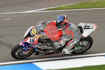 © Octane Photographic Ltd. 2012 World Superbike Championship – European GP – Donington Park. Friday 11th May 2012. WSBK Friday Qualifying practice. Mark Aitchison - BMW S1000RR. Digital Ref : 0330cb7d1407
