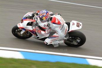 © Octane Photographic Ltd. 2012 World Superbike Championship – European GP – Donington Park. Friday 11th May 2012. WSBK Friday Qualifying practice. Jonathan Rea - Honda CBR1000RR. Digital Ref : 0330cb7d1437