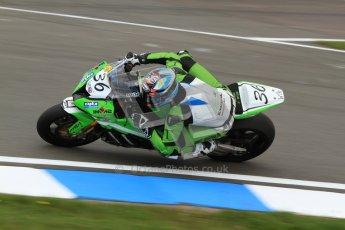 © Octane Photographic Ltd. 2012 World Superbike Championship – European GP – Donington Park. Friday 11th May 2012. WSBK Friday Qualifying practice. Leandro Mercado - Kawasaki ZX-10R. Digital Ref : 0330cb7d1453