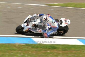 © Octane Photographic Ltd. 2012 World Superbike Championship – European GP – Donington Park. Friday 11th May 2012. WSBK Friday Qualifying practice. Marco Melandri - BMW S1000RR. Digital Ref : 0330cb7d1475