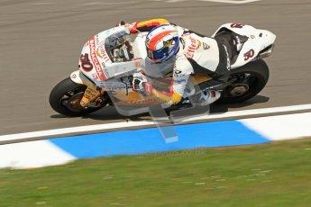 © Octane Photographic Ltd. 2012 World Superbike Championship – European GP – Donington Park. Friday 11th May 2012. WSBK Friday Qualifying practice. Sylvain Guintoli - Ducati 1098R. Digital Ref : 0330cb7d1498