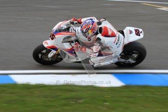 © Octane Photographic Ltd. 2012 World Superbike Championship – European GP – Donington Park. Friday 11th May 2012. WSBK Friday Qualifying practice. Jonathan Rea - Honda CBR1000RR. Digital Ref : 0330cb7d1526