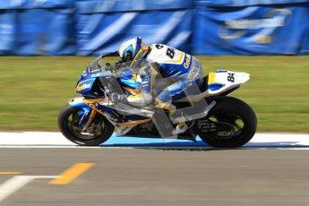 © Octane Photographic Ltd. 2012 World Superbike Championship – European GP – Donington Park. Friday 11th May 2012. WSBK Friday Qualifying practice. Michel Fabrizio - BMW S1000RR. Digital Ref : 0330cb7d1563