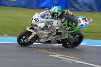 © Octane Photographic Ltd. 2012 World Superbike Championship – European GP – Donington Park. Friday 11th May 2012. WSBK Friday Qualifying practice. Peter Hickman - Suzuki GSX-R1000. Digital Ref : 0330cb7d1668