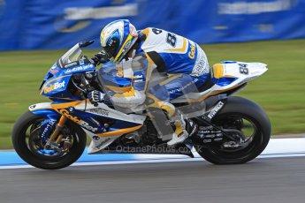 © Octane Photographic Ltd. 2012 World Superbike Championship – European GP – Donington Park. Friday 11th May 2012. WSBK Friday Qualifying practice. Michel Fabrizio - BMW S1000RR. Digital Ref : 0330cb7d1677