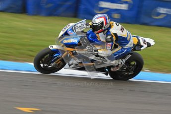 © Octane Photographic Ltd. 2012 World Superbike Championship – European GP – Donington Park. Friday 11th May 2012. WSBK Friday Qualifying practice. Ayrton Bodovini - BMW S1000RR. Digital Ref : 0330cb7d1797