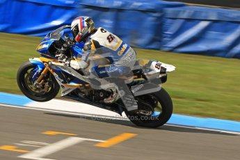 © Octane Photographic Ltd. 2012 World Superbike Championship – European GP – Donington Park. Friday 11th May 2012. WSBK Friday Qualifying practice. Ayrton Bodovini - BMW S1000RR. Digital Ref : 0330cb7d1854