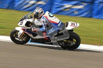 © Octane Photographic Ltd. 2012 World Superbike Championship – European GP – Donington Park. Friday 11th May 2012. WSBK Friday Qualifying practice. Marco Melandri - BMW S1000RR. Digital Ref : 0330cb7d1863