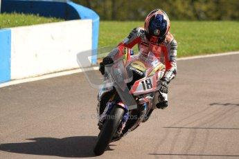 © Octane Photographic Ltd. 2012 World Superbike Championship – European GP – Donington Park. Friday 11th May 2012. WSBK Friday Qualifying practice. MArk Aitchison - BMW S1000RR. Digital Ref : 0330cb7d1923