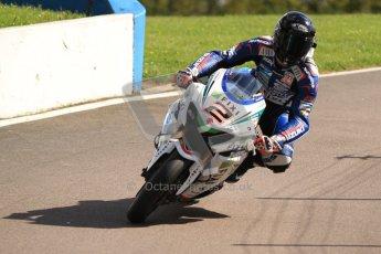 © Octane Photographic Ltd. 2012 World Superbike Championship – European GP – Donington Park. Friday 11th May 2012. WSBK Friday Qualifying practice. Leon Camier - Suzuki GSK-R1000. Digital Ref : 0330cb7d1928