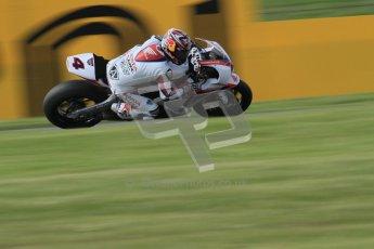 © Octane Photographic Ltd. 2012 World Superbike Championship – European GP – Donington Park. Friday 11th May 2012. WSBK Friday Qualifying practice. Hiroshi Aoyama - Honda CBR1000RR. Digital Ref : 0330lw7d4104