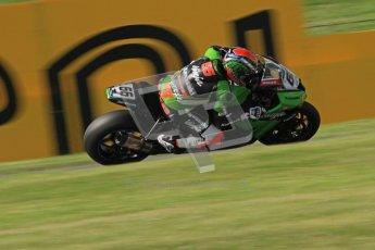 © Octane Photographic Ltd. 2012 World Superbike Championship – European GP – Donington Park. Friday 11th May 2012. WSBK Friday Qualifying practice. Tom Sykes - Kawasaki ZX-10R. Digital Ref : 0330lw7d4241