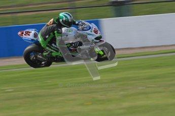 © Octane Photographic Ltd. 2012 World Superbike Championship – European GP – Donington Park. Friday 11th May 2012. WSBK Friday Qualifying practice. Peter Hickman - Suzuki GSX-R1000. Digital Ref : 0330lw7d4264