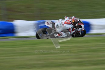 © Octane Photographic Ltd. 2012 World Superbike Championship – European GP – Donington Park. Friday 11th May 2012. WSBK Friday Qualifying practice. Hiroshi Aoyama - Honda CBR1000RR. Digital Ref : 0330lw7d4363