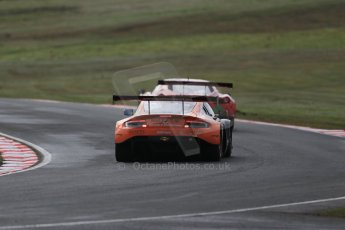 World © Octane Photographic Ltd. Avon Tyres British GT Championship Practice, Oulton Park, UK, Saturday 4th April 2015. Aston Martin Vantage GT3 - Pro/Am, Oman Racing Team – Liam Griffin and Rory Butcher. Digital Ref :