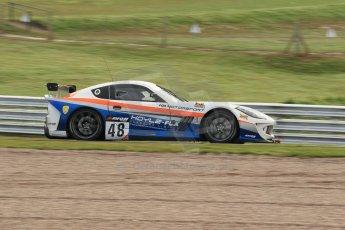 World © Octane Photographic Ltd. Avon Tyres British GT Championship Practice, Oulton Park, UK, Saturday 4th April 2015. G55 Ginetta GT4 – Pro/Am, Fox Motorsport – Paul McNeilly and Jamie Stanley. Digital Ref : 1215LW1L7797