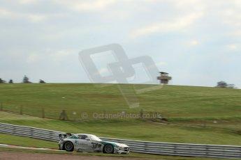 World © Octane Photographic Ltd. Avon Tyres British GT Championship Practice, Oulton Park, UK, Saturday 4th April 2015. Mercedes SLS AMG GT3 - Pro/Am, RAM Racing - Alistair MacKinnon and Lewis Plato. Digital Ref :