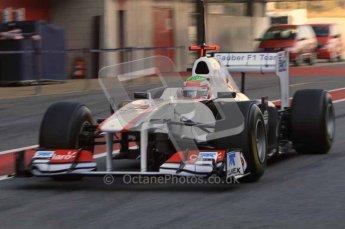 World © Octane Photographic 2011. Formula 1 testing Monday 21st February 2011 Circuit de Catalunya.  Digital ref : 0012LW7D5362