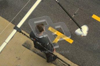 World © Octane Photographic 2011. Formula 1 testing Monday 21st February 2011 Circuit de Catalunya. Mercedes pitlane. Digital ref : 0012LW7D5485