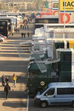 World © Octane Photographic 2011. Formula 1 testing Monday 21st February 2011 Circuit de Catalunya. The F1 Paddock Digital ref : 0012LW7D5559