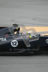 © Octane Photographic 2011. Formula 1 testing Sunday 20th February 2011 Circuit de Catalunya. Williams FW33 - Pastor Maldondado. Digital ref : 0010CB1D0984