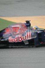 © Octane Photographic 2011. Formula 1 testing Sunday 20th February 2011 Circuit de Catalunya. Toro Rosso STR6 - Daniel Ricciardo. Digital ref : 0010CB1D1027