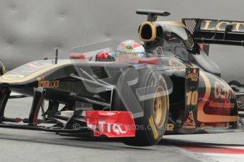 © Octane Photographic 2011. Formula 1 testing Sunday 20th February 2011 Circuit de Catalunya. Renault R31 - Vitaly Petrov. Digital ref : 0010CB1D2288