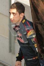 © Octane Photographic 2011. Formula 1 testing Sunday 20th February 2011 Circuit de Catalunya. Toro Rosso - Sebastien Buemi. Digital ref : 0010CB1D2408