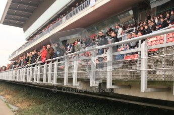 © Octane Photographic 2011. Formula 1 testing Sunday 20th February 2011 Circuit de Catalunya.  Digital ref : 0010CB5D0276