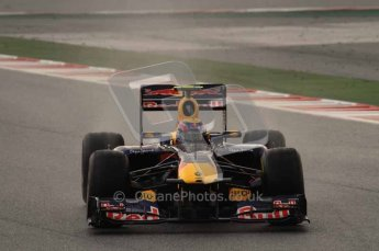 © Octane Photographic 2011. Formula 1 testing Sunday 20th February 2011 Circuit de Catalunya. Red Bull RB7 - Mark Webber. Digital ref : 0010LW7D2452