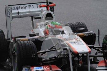 © Octane Photographic 2011. Formula 1 testing Sunday 20th February 2011 Circuit de Catalunya. Sauber C30 - Sergio Perez. Digital ref : 0010LW7D2554