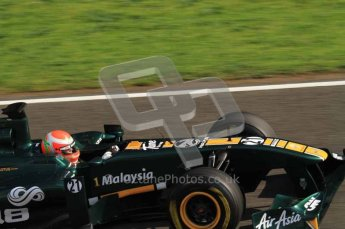 © Octane Photographic 2011. Formula 1 testing Sunday 20th February 2011 Circuit de Catalunya. Lotus T124 - Jarno Trulli. Digital ref : 0010LW7D4671