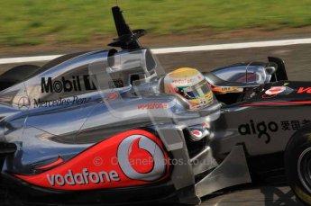 © Octane Photographic 2011. Formula 1 testing Sunday 20th February 2011 Circuit de Catalunya. McLaren MP4/26 - Lewis Hamilton. Digital ref : 0010LW7D4830