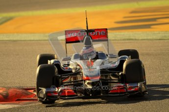 World © Octane Photographic 2010. © Octane Photographic 2011. Formula 1 testing Friday 18th February 2011 Circuit de Catalunya. McLaren MP4/26 - Jenson Button. Digital ref : 0024CB7D0162