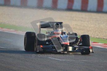 World © Octane Photographic 2010. © Octane Photographic 2011. Formula 1 testing Friday 18th February 2011 Circuit de Catalunya. Hispania F110 - Narain Karthikeyan. Digital ref : 0024CB7D9639