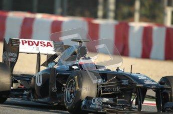 World © Octane Photographic 2010. © Octane Photographic 2011. Formula 1 testing Saturday 19th February 2011 Circuit de Catalunya. Williams FW33 - Rubens Barrichello. Digital ref : 0025CB1D0018