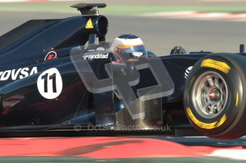 World © Octane Photographic 2010. © Octane Photographic 2011. Formula 1 testing Saturday 19th February 2011 Circuit de Catalunya. Williams FW33 - Rubens Barrichello. Digital ref : 0025CB1D0152