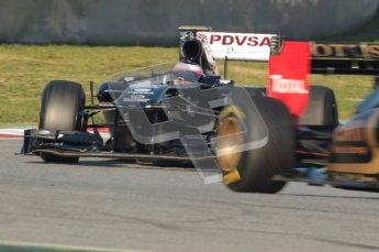 World © Octane Photographic 2010. © Octane Photographic 2011. Formula 1 testing Saturday 19th February 2011 Circuit de Catalunya. Williams FW33 - Rubens Barrichello. Digital ref : 0025CB1D0243