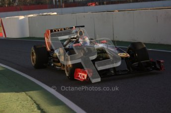 World © Octane Photographic 2010. © Octane Photographic 2011. Formula 1 testing Saturday 19th February 2011 Circuit de Catalunya. Renault R31 - Vitaly Petrov. Digital ref : 0025CB5D0013