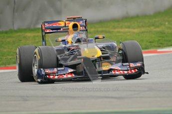World © Octane Photographic 2011. Formula 1 testing Wednesday 9th March 2011 Circuit de Catalunya. Red Bull RB7 - Sebastian Vettel. Digital ref : 0020CB1D1547