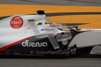 World © Octane Photographic 2011. Formula 1 testing Wednesday 9th March 2011 Circuit de Catalunya. Sauber C30 - Kamui Kobayashi. Digital ref : 0020LW7D8599