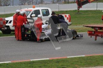 World © Octane Photographic 2011. Formula 1 testing Wednesday 9th March 2011 Circuit de Catalunya. Williams FW33 - Pastor Maldonado. Digital ref : 0020LW7D9286