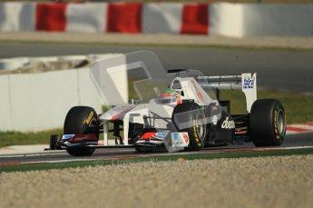 World © Octane Photographic 2011. Formula 1 testing Thursday 10th March 2011 Circuit de Catalunya. Sauber C30 - Sergio Perez. Digital ref : 0023cb1d2888