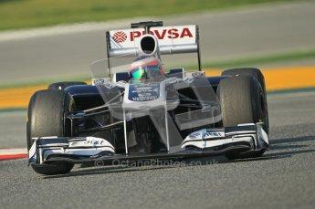 World © Octane Photographic 2011. Formula 1 testing Thursday 10th March 2011 Circuit de Catalunya. Williams FW33 - Rubens Barrichello. Digital ref : 0023cb1d2943