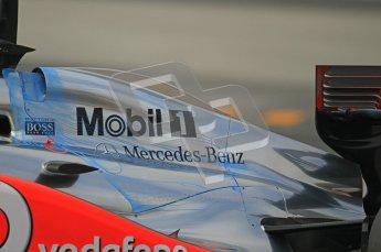 World © Octane Photographic 2011. Formula 1 testing Friday 11th March 2011 Circuit de Catalunya. McLaren MP4/26 - Jenson Button. Digital ref : 0022CB1D3642