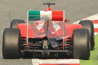World © Octane Photographic 2011. Formula 1 testing Friday 11th March 2011 Circuit de Catalunya. Ferrari 150° Italia - Fernando Alonso. Digital ref : 0022CB1D3691