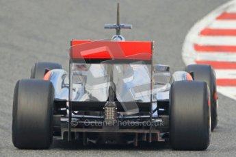 World © Octane Photographic 2011. Formula 1 testing Friday 11th March 2011 Circuit de Catalunya. McLaren MP4/26 - Jenson Button. Digital ref : 0022CB1D3708