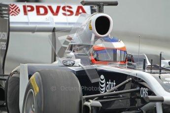 World © Octane Photographic 2011. Formula 1 testing Friday 11th March 2011 Circuit de Catalunya. Williams FW33 - Rubens Barrichello. Digital ref : 0022CB1D3840