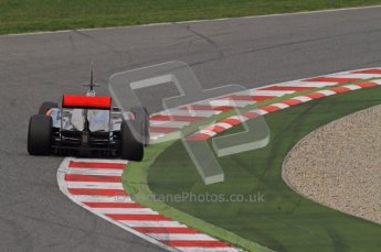 World © Octane Photographic 2011. Formula 1 testing Friday 11th March 2011 Circuit de Catalunya. McLaren MP4/26 - Jenson Button. Digital ref : 0022LW7D2897